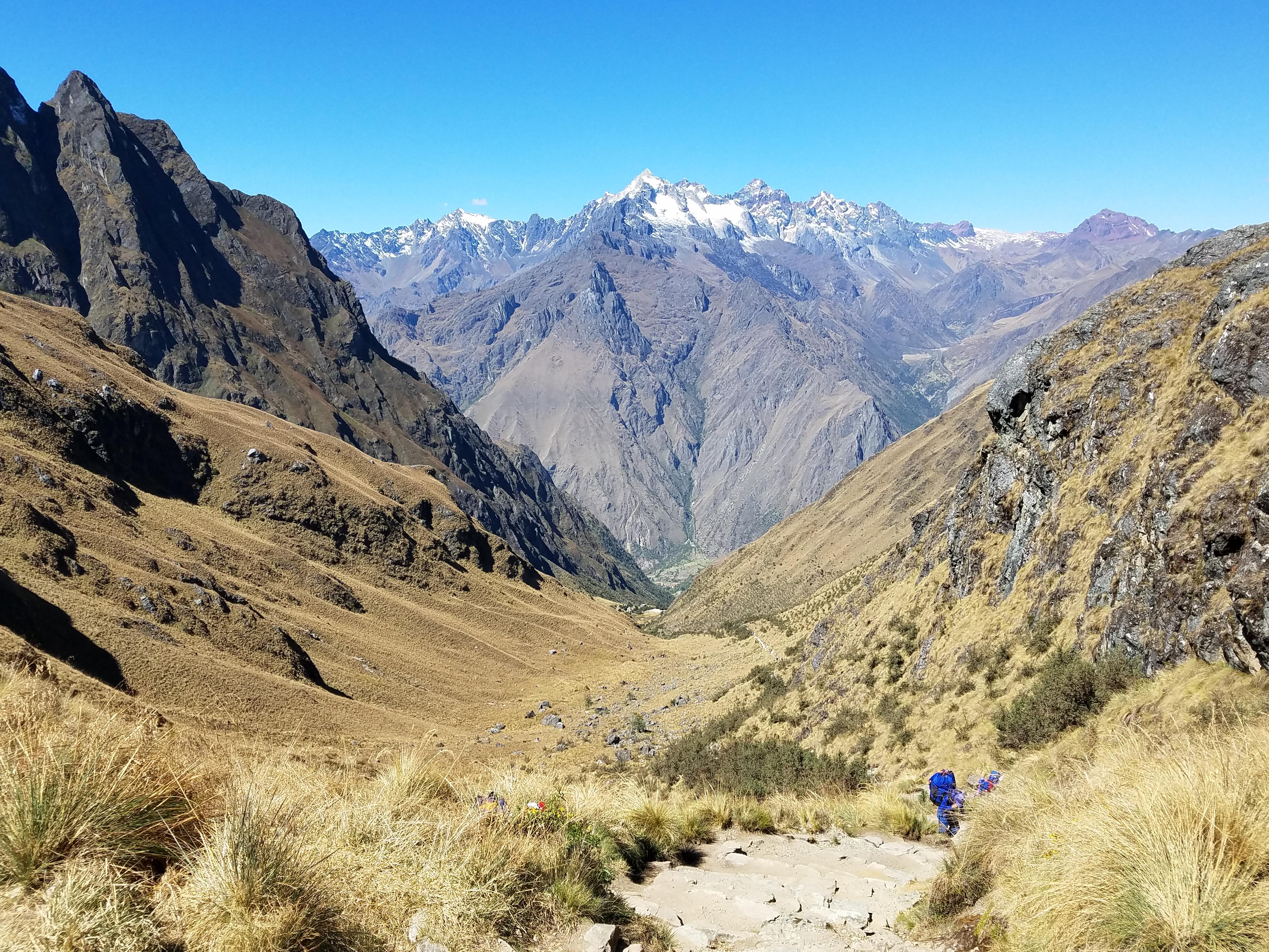 Dead woman's pass - Machu Picchu