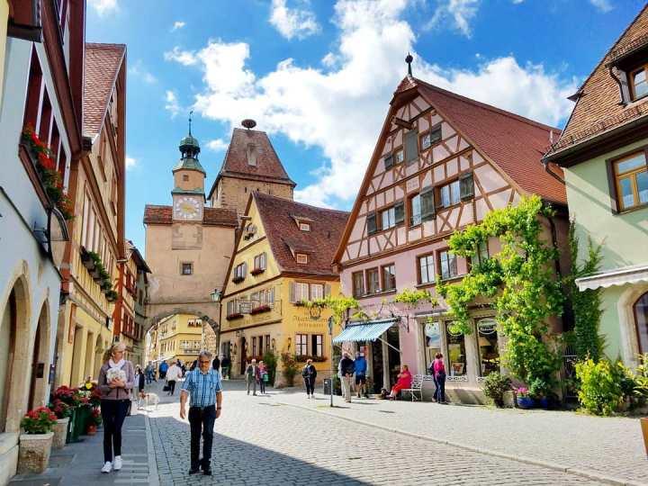 One Day in Rothenburg ob derTauber