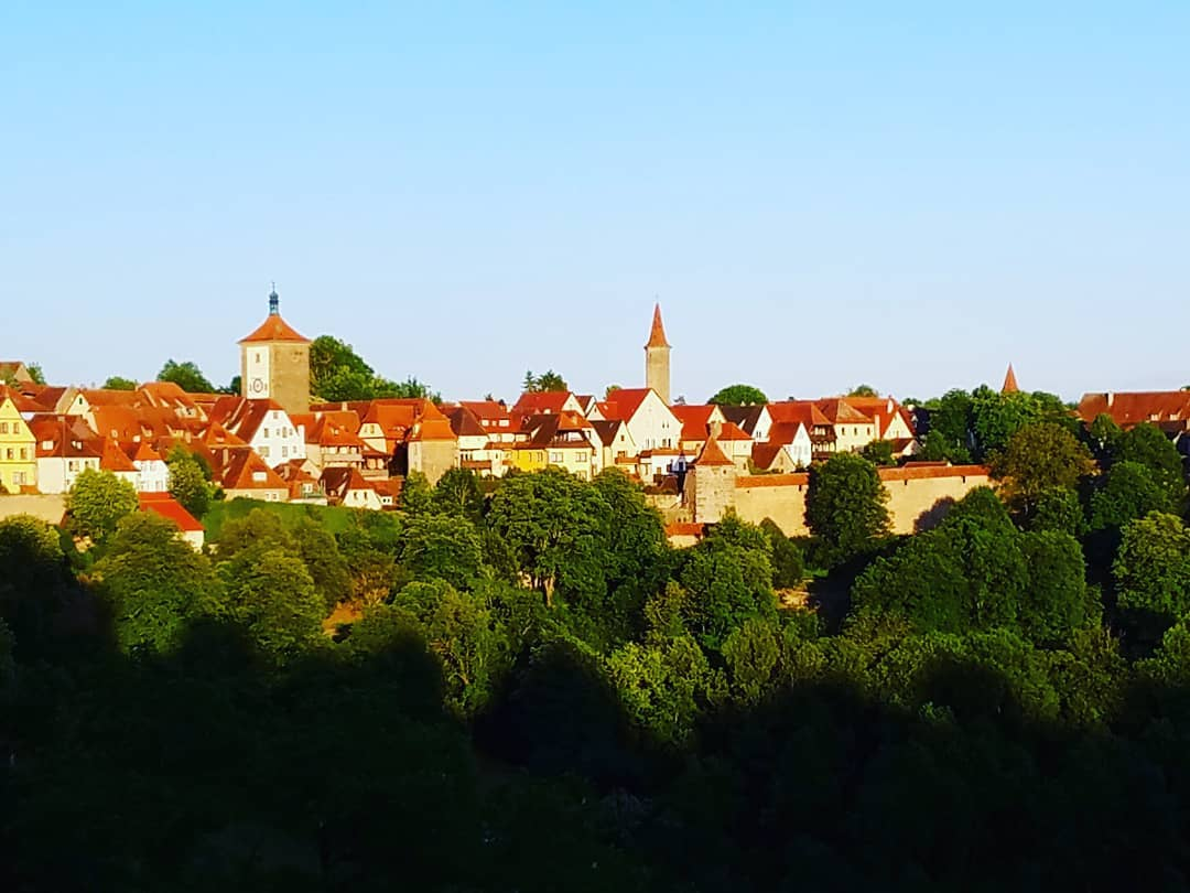 Rothenburg in the evening