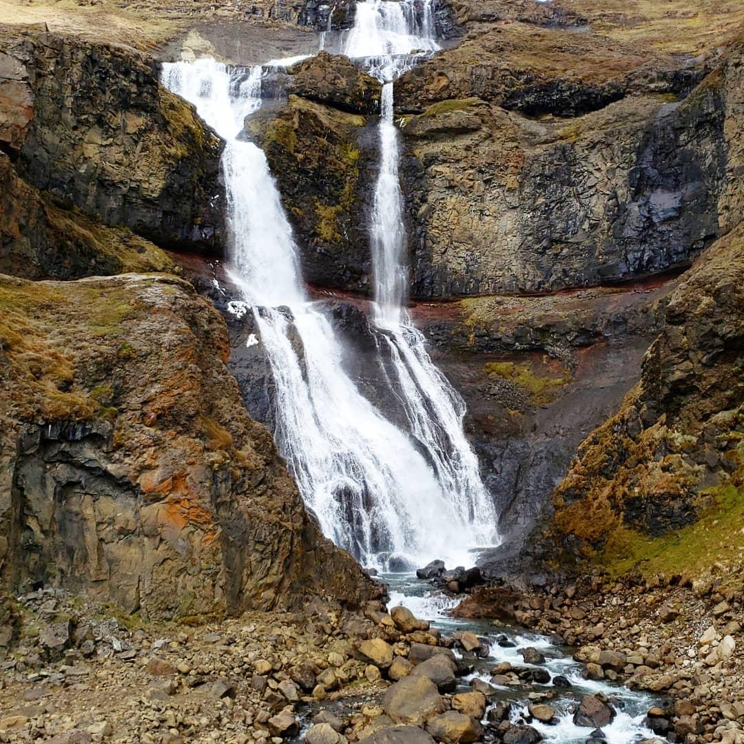 Rjukandi waterfall