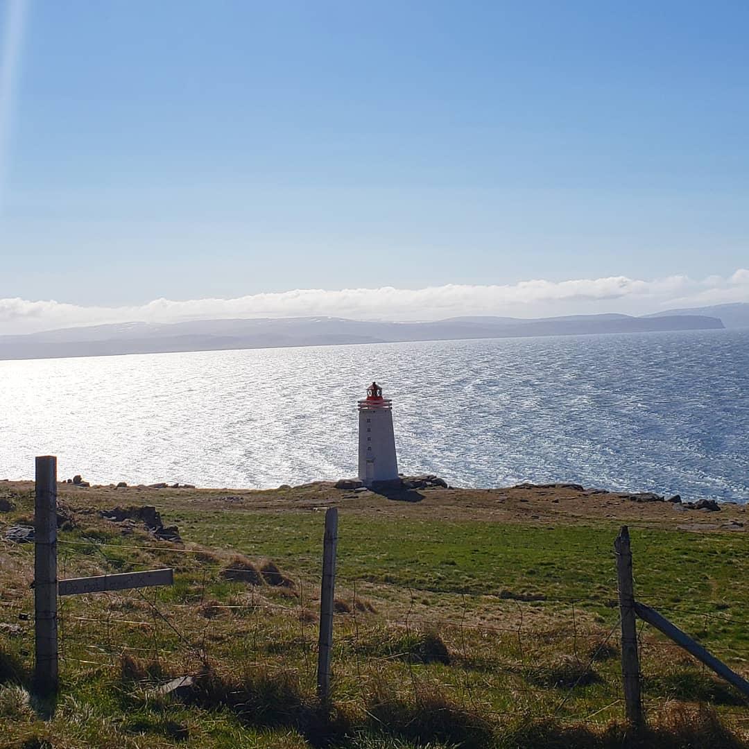 Lighthouse in  Hvammstangi