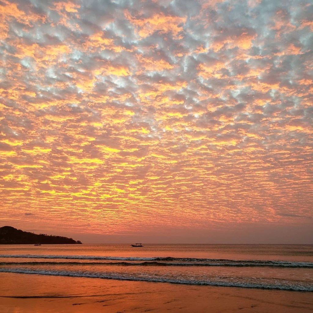 Jimbaran Bay sunset